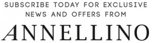 Subscribe today for exclusive news and offers form Annellino