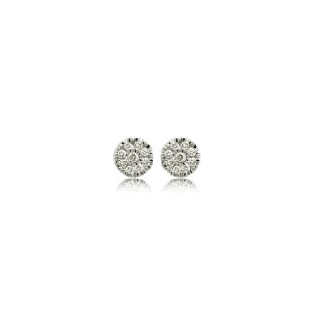 nine diamond earrings