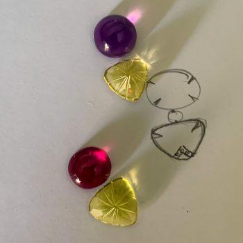 quartzo lemon ametista disegno